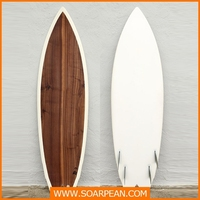 Customized Decorative Wooden Surfboard made in China
