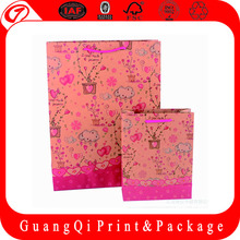 OEM wholesale luxury cheap paper shopping bags