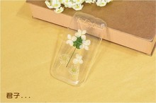 Dry pressed natural real flower cell phone accessory for samsung case glitter handmade gift transparant resin flower for s3i9300