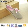 Global famed delicate design flat female shoes