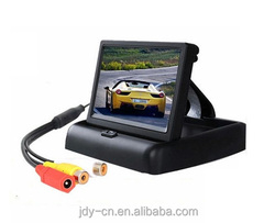 High quality 4.3 Inch TFT LCD car rearview reverse monitor