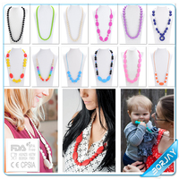 Silicone Gift Party baby silicone teething costume jewellery from china
