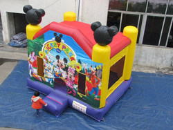Mickey and Minnie inflatable party bouncy/cartoon inflatable for kids playing bouncer