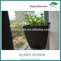 KD4901-4904 Plastic Square Flowerpot