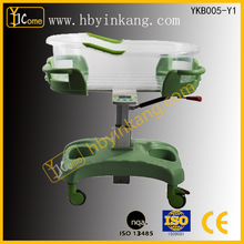 YKB005-Y1adjustable children bed /infant hospital bed/ baby crib with high quality