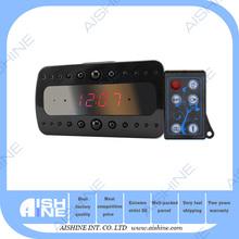 充電式バッテリーリモコンカムナイトビジョンとモーションディテクトテーブルの目覚まし時計hd1080pミニ隠されたデジタルカメラ