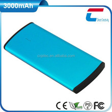 Shenzhen CXJ Top Battery 3000mAh Powerful Power Bank for All Mobile Phones