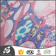 Alibaba china 10 years experience Flower cotton modal jersey fabric