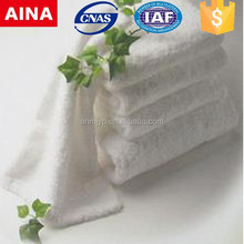 China Top 10 Towels' supplier high quality Dobby Plain weave white sanitary towel
