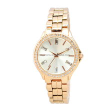 2015 High quality vogue women's watch stainless steel case back watch