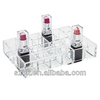 acrylic plastic divided cosmetic organizer tray wholesale