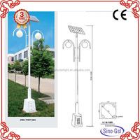 High lumen solar garden light parts in led garden night light