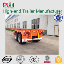 40ft 3 axles container chassis truck trailer