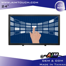 AIMTOUCH 24 inch Resisitive,Desktop Multi digitizer touch 1920x1080 Touch Screen Monitor Taiwan