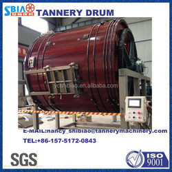 D3M by 2.5M pigskin tannery/normal leather wooden drum/leather liming drum/leather dyeing/ tanning drum/leather machine