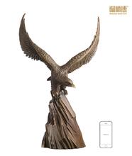 Excelente proveedor chino de antigua estatua del águila de bronce en Alibaba