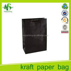 New popular craft carry bags shopping packaging bag with handles
