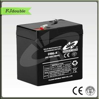 New products solar energy rechargeable battery 6v 4ah 20hr electronic