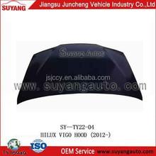 Hot Sale Auto Body Parts Engine Hood/Bonnet For Toyota Vigo 2012-