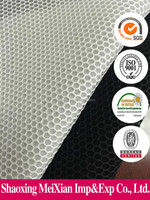 2015 keqiao new fashionable 3d 100% polyester mesh fabric