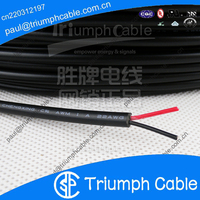 22/2 AWG Security Alarm Cable Wire 2 Conductor Stranded