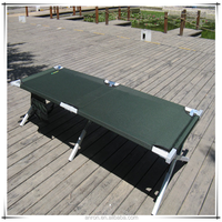 Portable Camp Sleeping Bed Folding Cot Bed Easy Set up Outdoor Hike Camping Bed