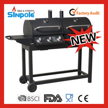 2015 New Patent Sinpole New Products Steel BBQ Barbecue Charcoal Grill With Trolley