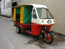 Hot Sale Enclosed Cabin Adult Passenger Triciclo Three Wheel Motorcycle (Item No:HY150ZK)