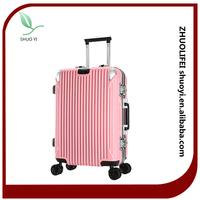 Newest travel trolley luggage case/business card size luggage tag/eminent travel luggage suitcase