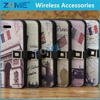 For Good Quality Colorfu Lleather Case For Iphone 5C Popular Mobile Phone Case Shell