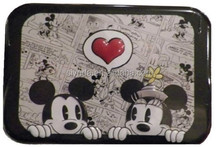 MICKEY & MINNIE MOUSE COTTON BUD SWABS