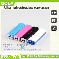 Mini portable power bank for Iphone 5 , smart phones power bank charger portable power bank