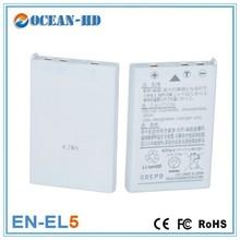 Small size with high capacity lipo battery for Nikon EN-EL5