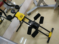 Multifunction domestic abdominal exercise equipment with counter strength machine AMA-571B