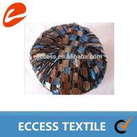 100%nylon yarn / ladder fancy yarn space dyed on ball