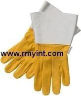 pakistani RMY 024 high quality working gloves long cuff