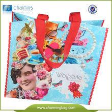 Silk Printed Promotional Non Woven Shopping Bag