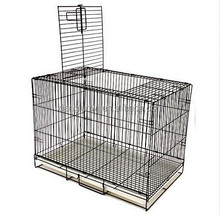 DOG TRAINING CRATE 20x13x15 Small Pet Kennel Cage Folding Portable Travel Metal