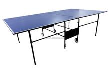 fabbrica vendita calda d9408 giochi da esterno in alluminio pieghevole tavolo da ping pong