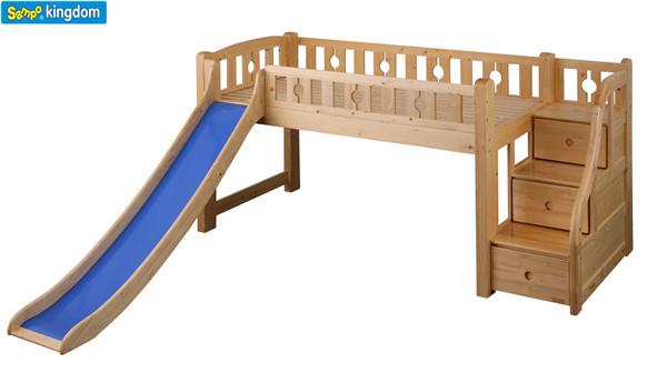 Letti A Soppalco Per Bambini Con Scivolo.Letti A Castello Per Bambini Con Scivolo Camerette Per Mansarda