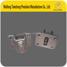 China Castings Factory - ISO9001 Stainless Steel Glass Clamp lost wax cast fitting