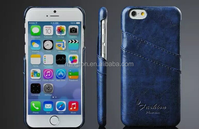 PU Pocket mobile phone case for iphone 6