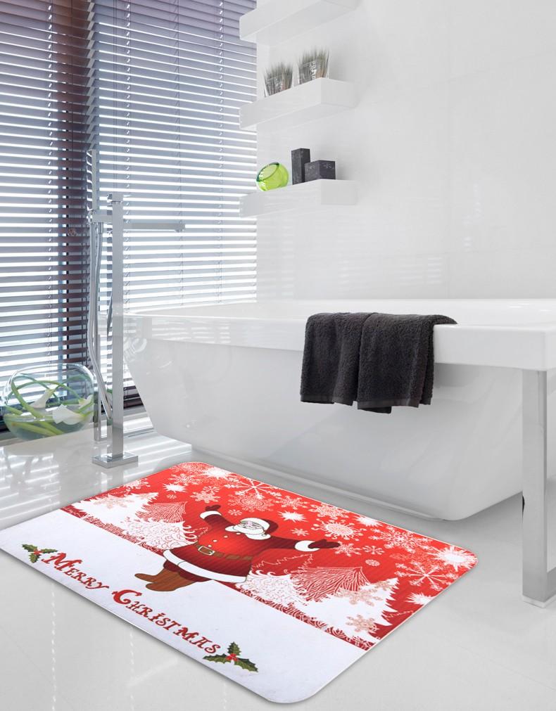 새로운 디자인 산타 클로스 패턴 인쇄 매트 승화 바닥 매트-매트 ...
