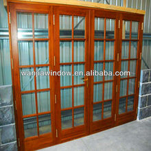 factory wholesale Aluminum doors with wrought iron