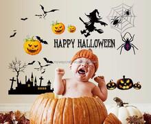 Happy Halloween Wall Sticker Decals Nursery Kids Bab Halloween Wall Decals Home Decor Removable Wall Sticker