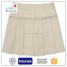 TC 65/35 21*21 108*58 reactive dyed and bleached white school uniform design