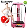 Hot Selling Shake Fit Massage Vibration Plate Manual with spring rope