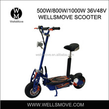 2015 lead acid battery Folding Electric Scooter 1000w