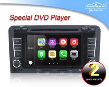 Touch screen car dvd player car dvd vcd cd mp3 mp4 player for Audi A3 car gps dvd player with bt+radio