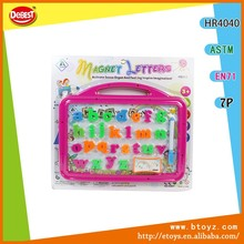 Children Magnetic Portable Drawing Board With Alphabet Letter